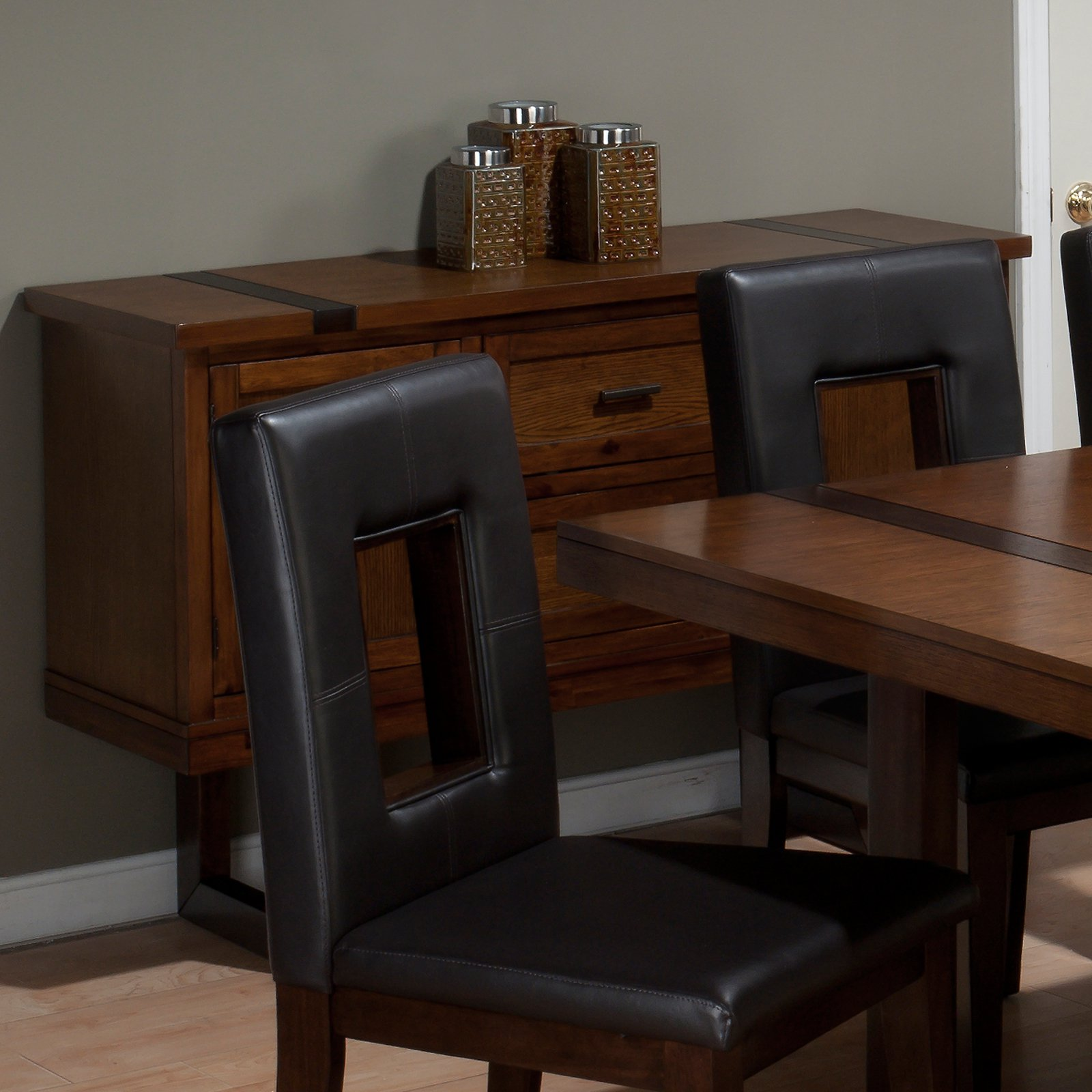 Jofran Winnifred Oak Dining Server