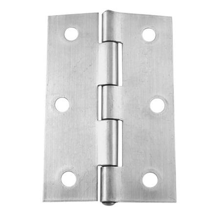 3 X 2 Satin Nickel Cabinet Metal Radius Door Hinges