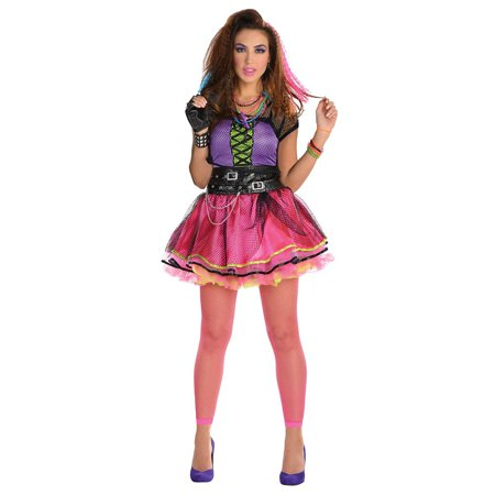 80s Pop Star Dress Adult Costume - Standard