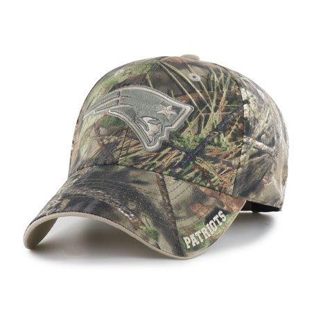 Fan Favorite NFL Mossy Oak Adjustable Hat, New England Patriots