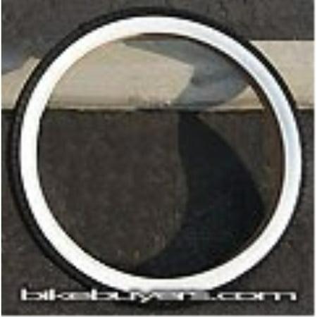 Duro Diamond Tread Tire White Wall 26 x 2.125, for Beach Cruiser Bikes (Beach Tires)