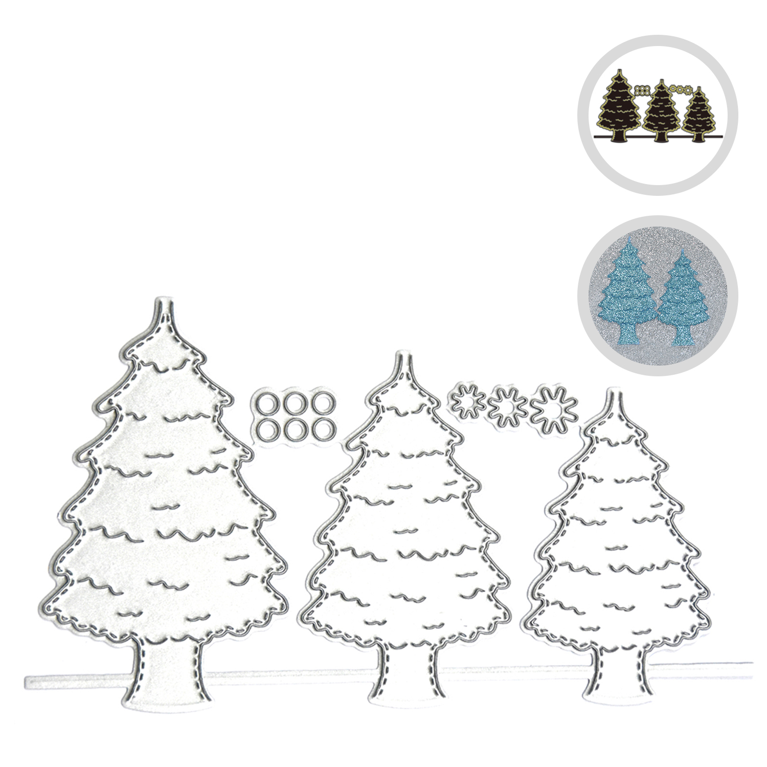 Christmas Metal Cutting Die DIY Mouse Embossing Stencil Scrapbook Card Decor