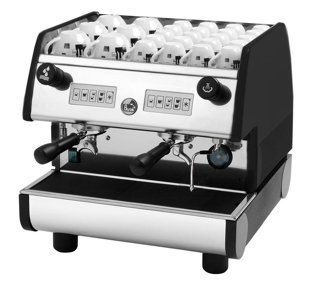 2 Group Volumetric Electronic Espresso Machine by Forzano Italian Imports Inc