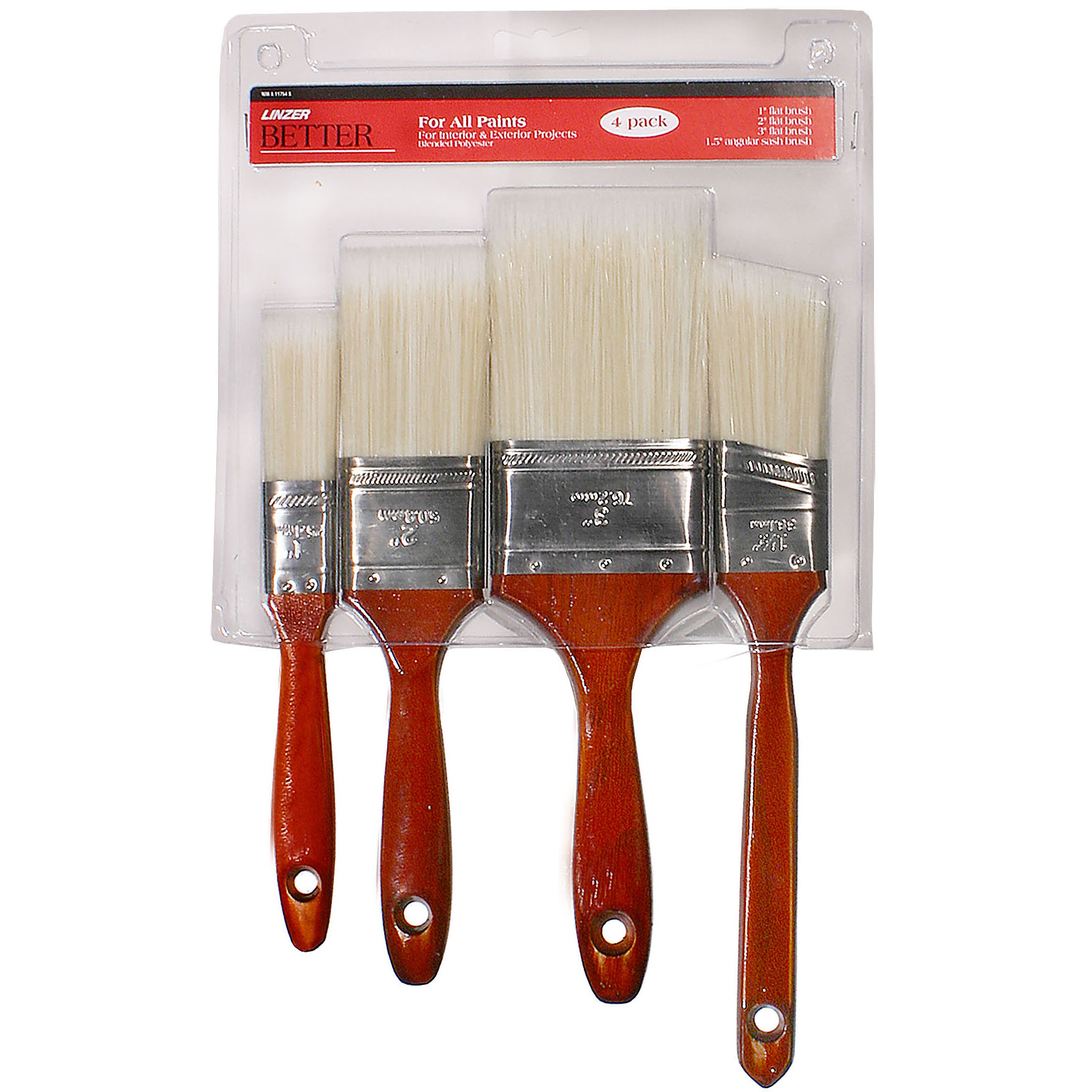 Linzer, Better Brush Set 4PC