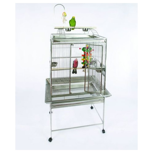 A&E Cage Co. Medium Play Top Bird Cage with Bird Toy Hook