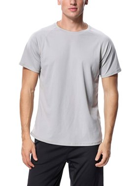 Charmo Men's Rash Guard Short Sleeve Rashguard UPF 50+ Swimwear Swim Shirt Sun Tee Loose Fit Tops