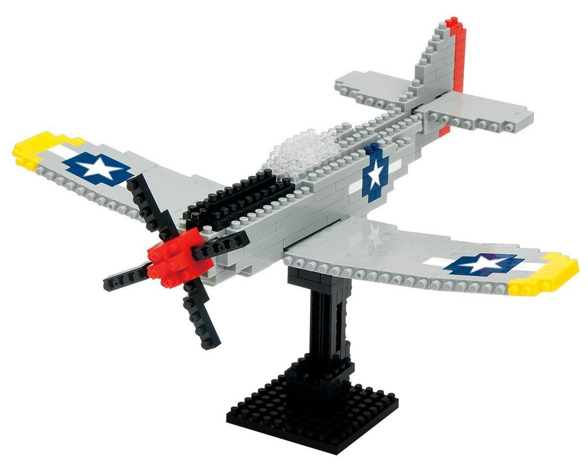 Nanoblock P-51 Mustang Building Kit by