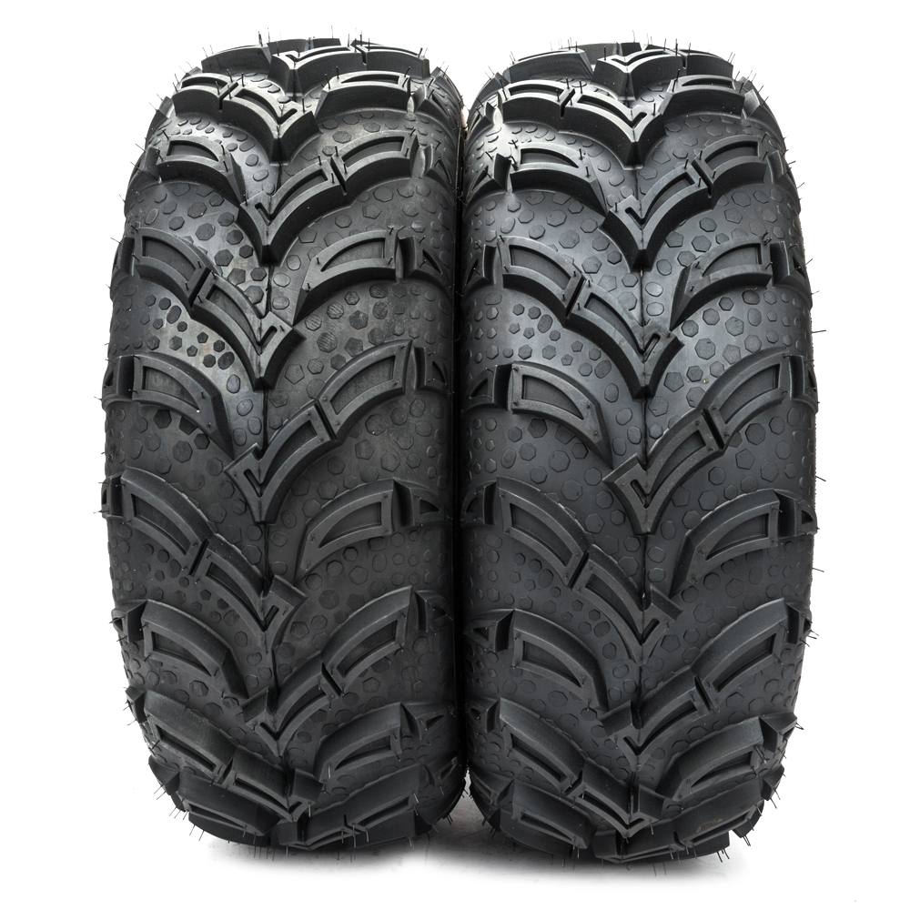 Ktaxon Two Tire Set Atv Tires 6 Ply 25 25x8x12 Factory Direct With