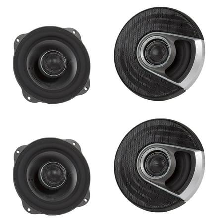Polk Audio MM1 Series 5.25 Inch 300W Coaxial Marine Car Audio Speakers (2 (Polk Audio Db521 5-25 Inch Coaxial Speakers)