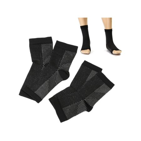 1 Pair Foot Ankle Sleeve Anti Fatigue Compression Swelling Relief Socks Women &