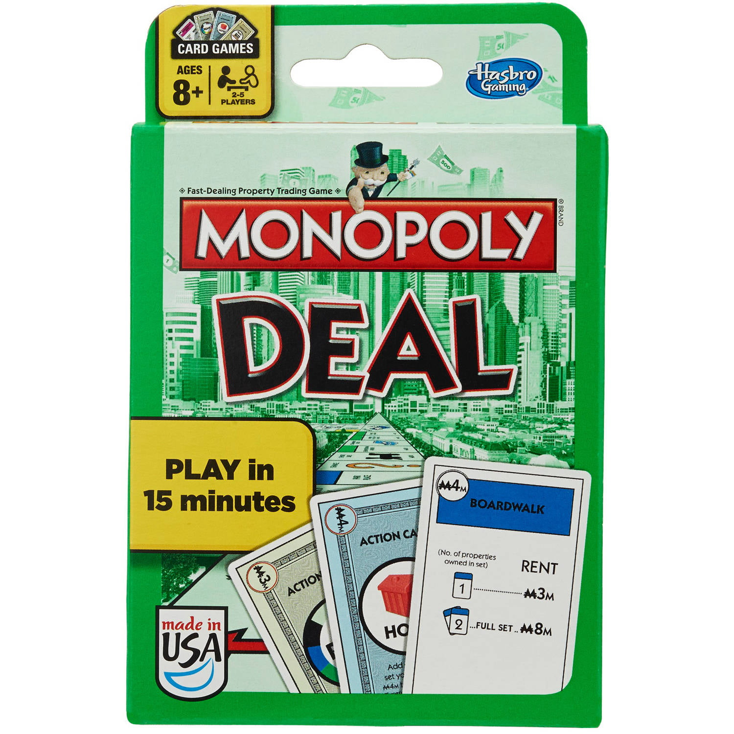monopoly deal card game walmartcom - Christmas Card Games