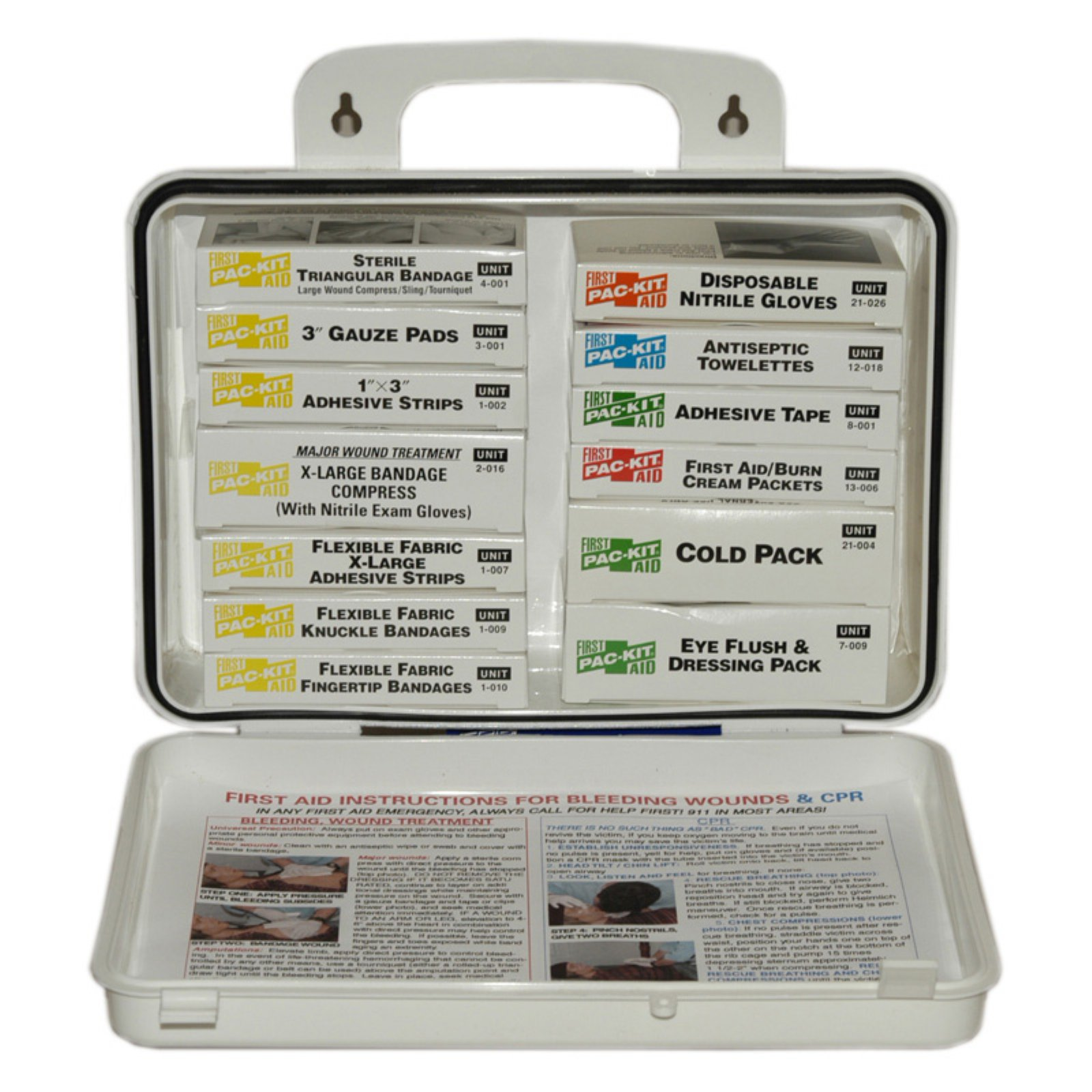 Pac-Kit 16 Unit Plastic First Aid Kit