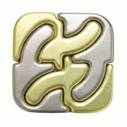 Hanayama Level 6 Cast Puzzle, Square