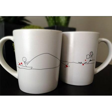 boldloft catch my heart couple coffee mug set of 2 walmart com