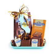 A California Delicious Ghirardelli Chocolate Gift Tray