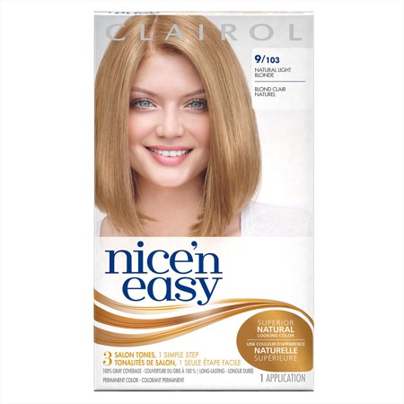 clairol nice n easy permanent hair color 9 103 natural light