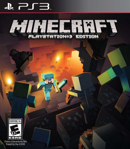 Minecraft, Sony, PlayStation 3, 711719051329