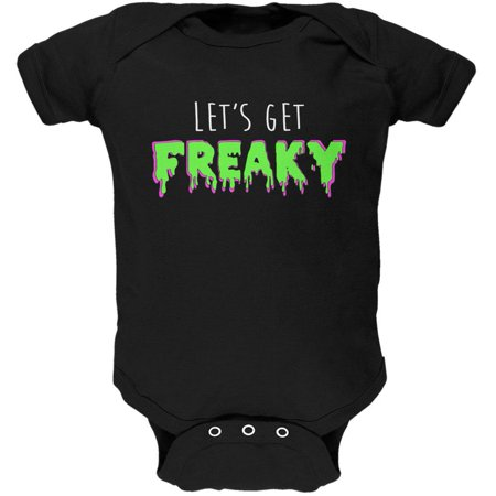 Halloween Lets Get Freaky Slime Soft Baby One - Halloween Slime