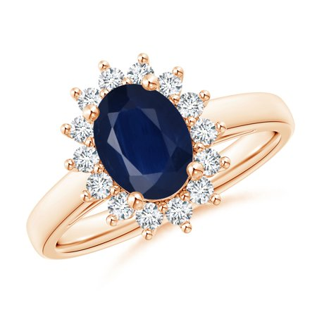 Angara September Birthstone Ring Princess Diana Inspired Blue