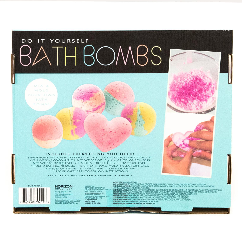 Do it yourself bath bombs kit by horizon group usa walmart solutioingenieria Images