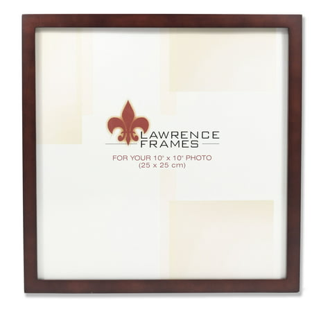 755910 Espresso Wood 10x10 Picture Frame