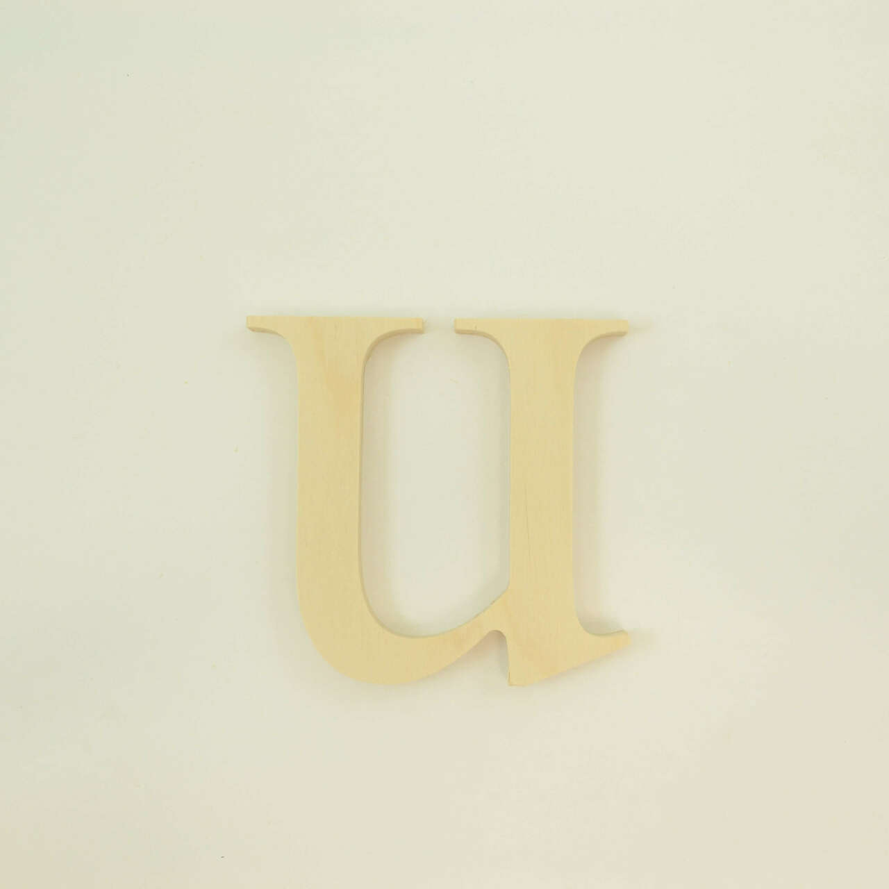 Single Wooden Letter Fonts DIY Crafting Decorative Craft Monogram Unfinished Birch Plywood 2-30 inches Home Decor Deliciously Sans