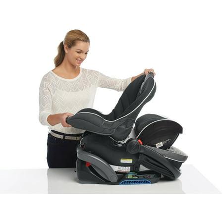 Graco SnugRide SnugLock 35 Elite Infant Car Seat with Safety Surround, Oakley