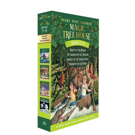 Magic Tree House Volumes 5-8 Boxed Set (Magic Tree House Movie)