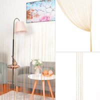 1x2M Door Tassel String Curtains Thread Fringe Window Panel Room Divider
