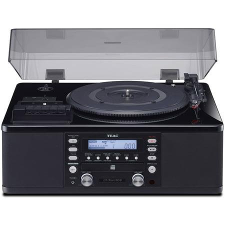 Teac LP-R660USB-PB Turntable with USB, CD Recorder, Cassette Deck & AM/FM (Best Teac Cd Players)