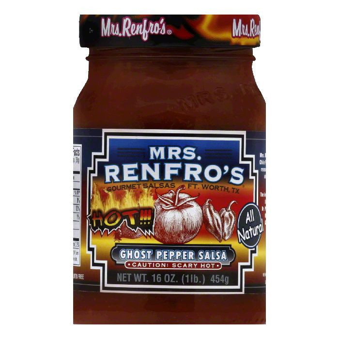 Mrs. Renfro's Ghost Pepper Salsa, 16 oz
