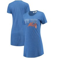 New York Mets Concepts Sport Women's Knit Nightshirt - Royal