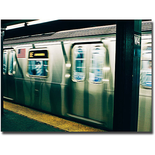"Trademark Fine Art ""Underground"" Canvas Wall Art by Ariane Moshayedi"