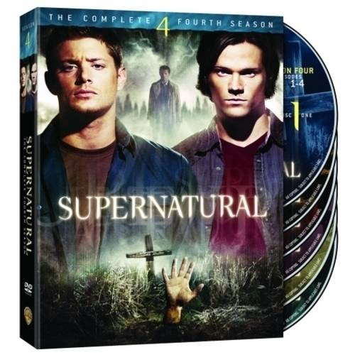SUPERNATURAL-COMPLETE 4TH SEASON (DVD/6 DISC/FF-16X9/SP-FR-PRT-CH-THAI SUB)