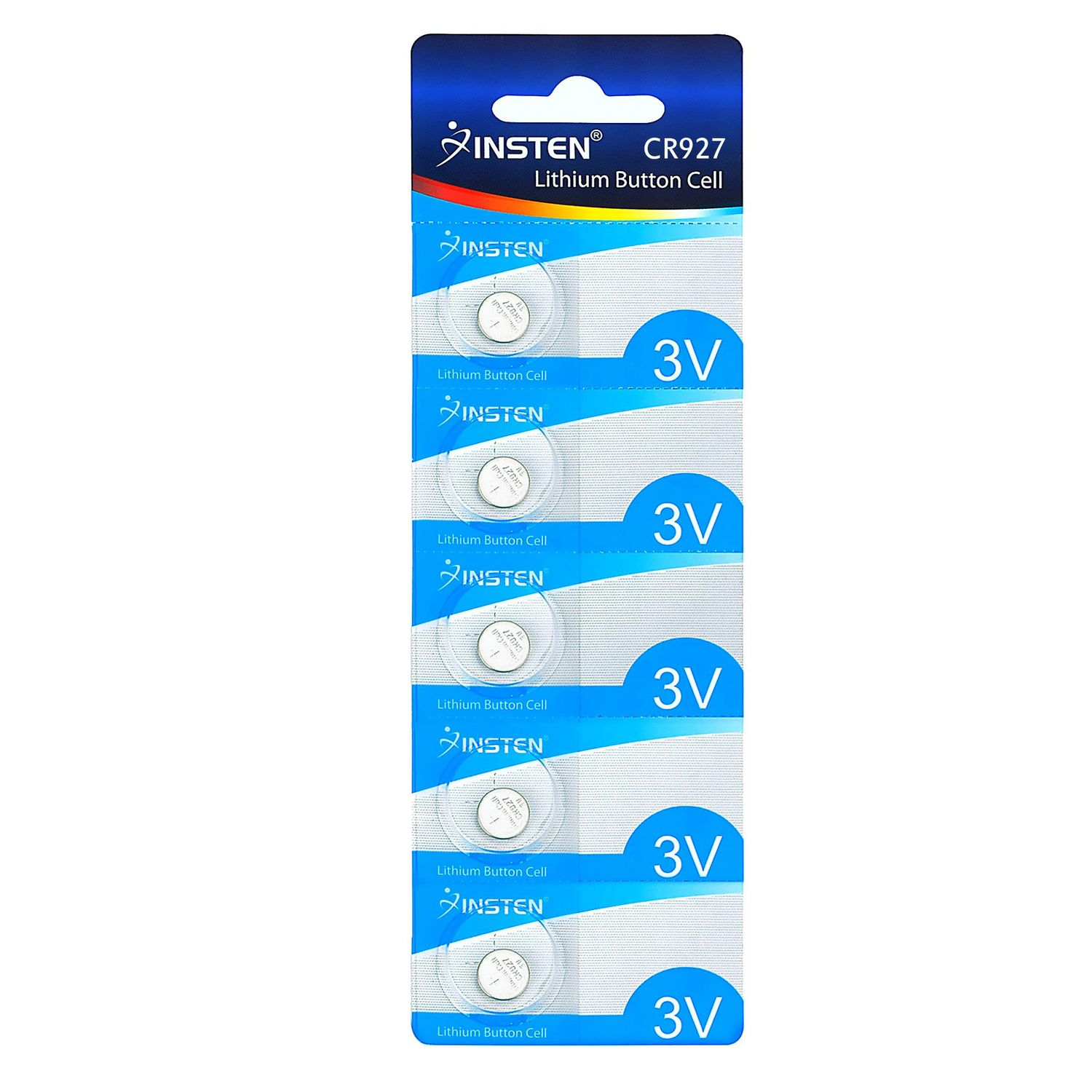 Insten CR927 CR 927 3V Lithium Batteries Coin Button Cell Watch Battery (Pack Of 5-piece)