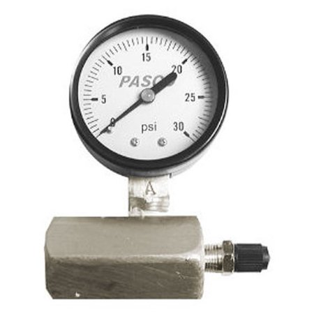 Pasco 1427 30-Pound Gas Test Gauge Assembly