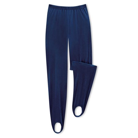 Blue Velvet Pants (Women's Velvet Stirrup Pants Womens Navy Xx-large, Xx-Large, Navy  - Made in the USA)