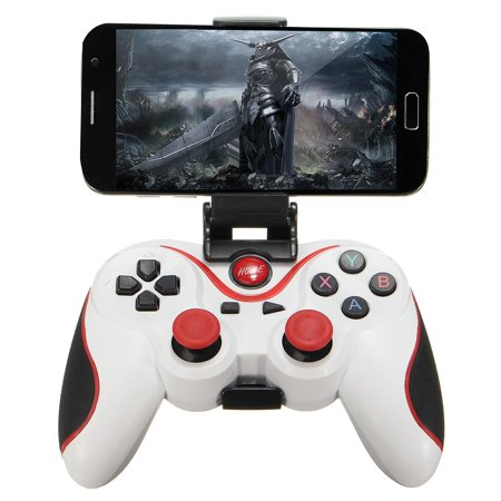 New Bluetooth 4.0 Wireless Gamepad Controller Joystick For Android Phone with Phone Bracket Wireless Bluetooth Gamepad Game Controller