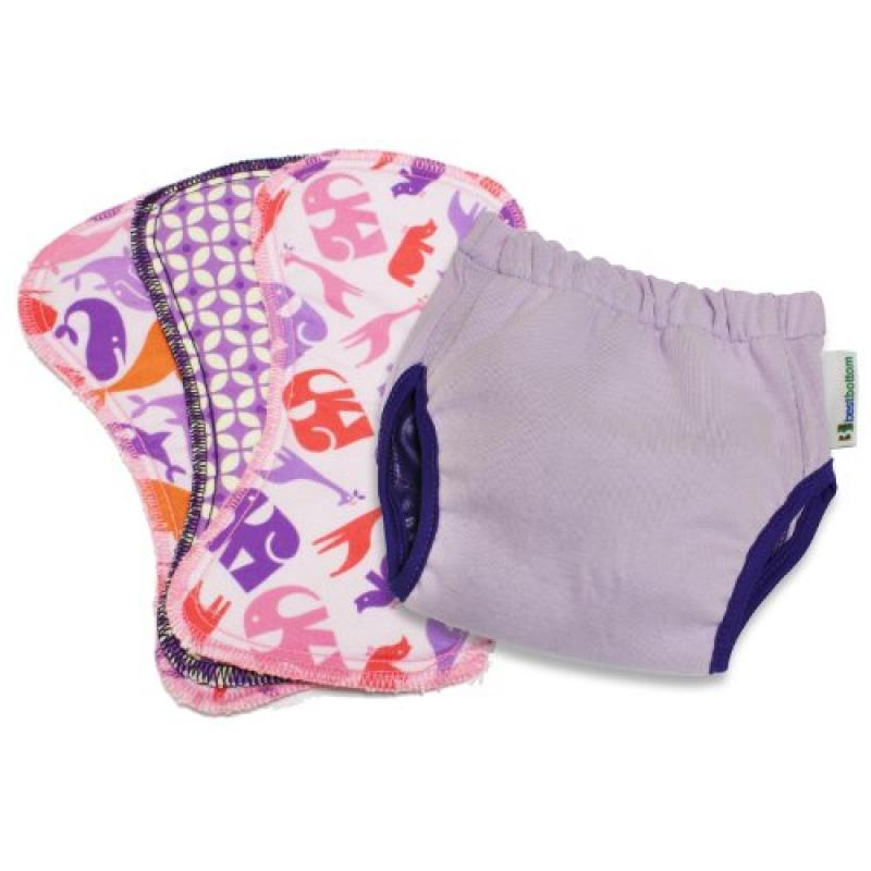 Planet Wise Best Bottom Potty Training Kit, Grape, Medium