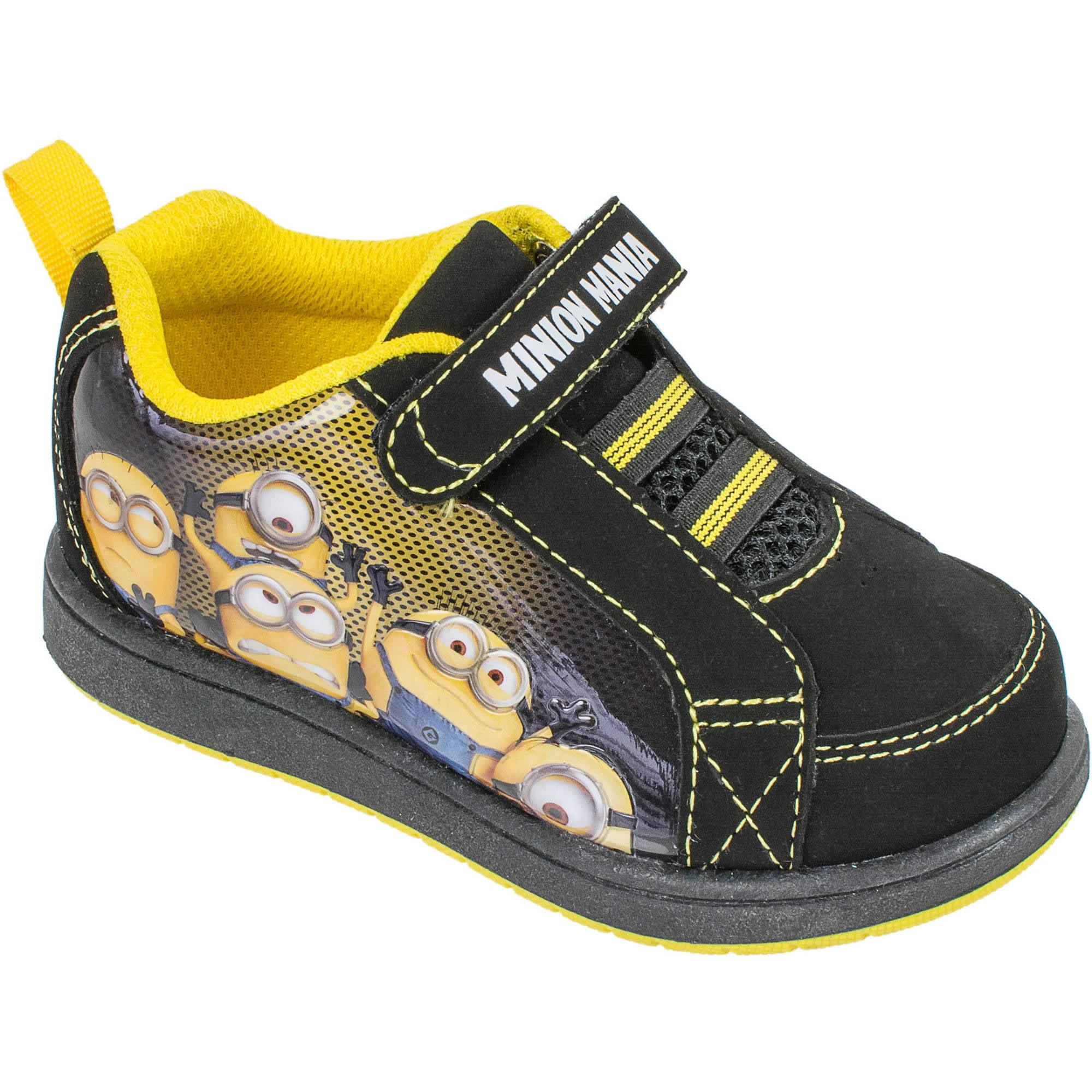 Minions - Toddler Boys' Athletic Running Shoe - Walmart ...
