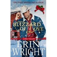 Long Valley Romance: Blizzard of Love : A Long Valley Romance Novella (Series #2) (Paperback)