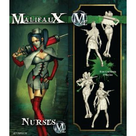 - Wyrd Miniatures Malifaux Resurrectionists Nurse Model Kit