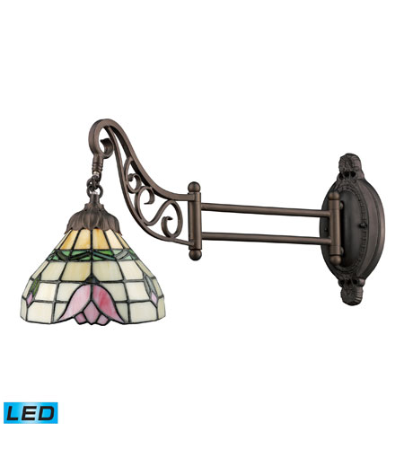 Wall Sconces 1 Light LED With Tiffany Bronze Finish 24 inch 13.5 Watts - World of Lamp