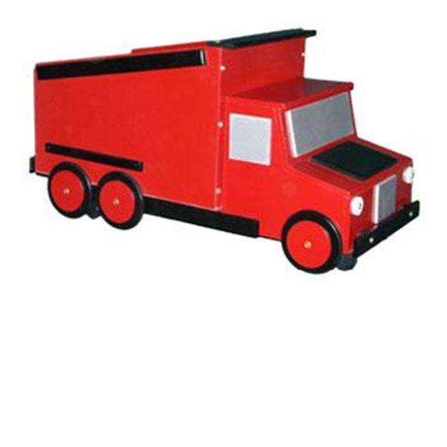 Just Kids Stuff Dumptruck Toy Chest Red by Just Kids Stuff