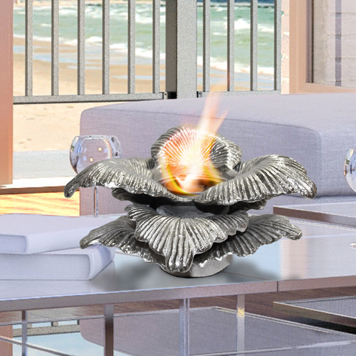 Anywhere Fireplace Chatsworth Botanical Gel Fuel Tabletop ...
