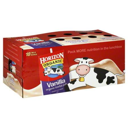 Box Milk (Horizon Organic Horizon Organic Milk, 18 ea)