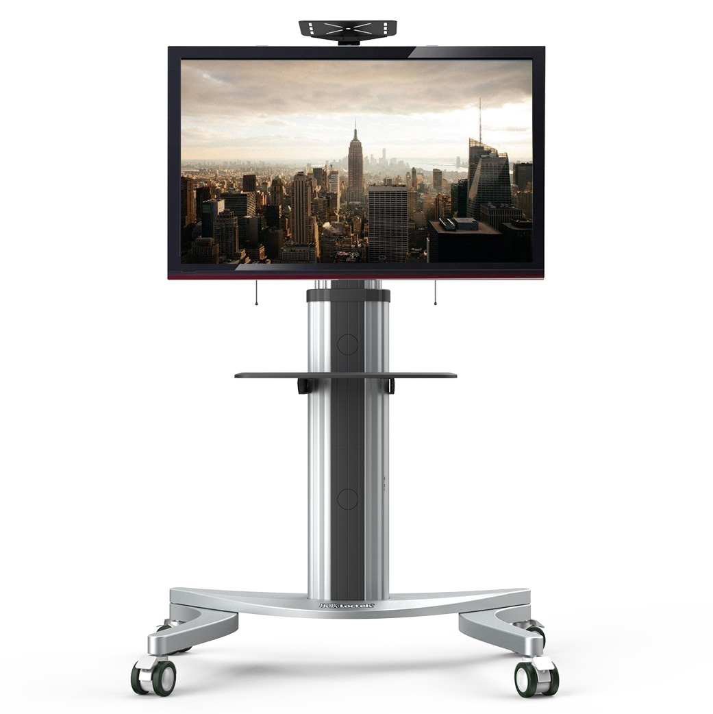 "Loctek P2 Mobile TV Floor Cart for LCD LED Plasma 4K HD?Flat Panels Mobile?Stand with Wheels fit for 32""-70"" Screens"
