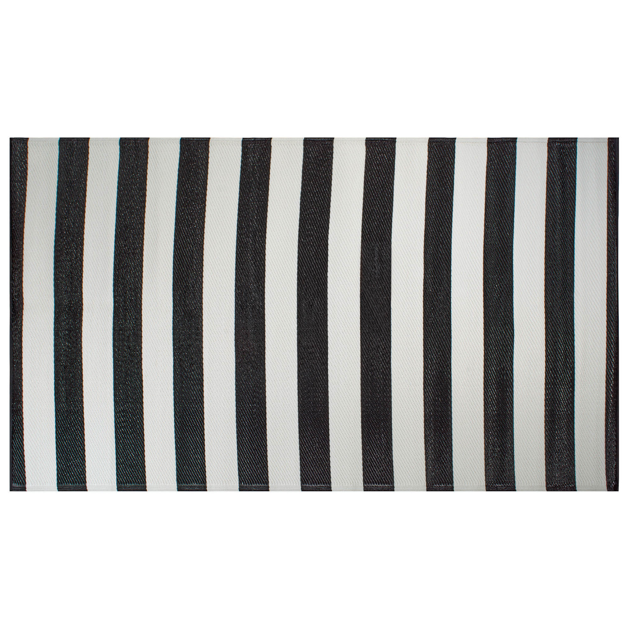 DII Black/White Stripe Outdoor Rug   Walmart.  Walmart.com