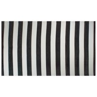 DII Black/White Stripe Outdoor Rug