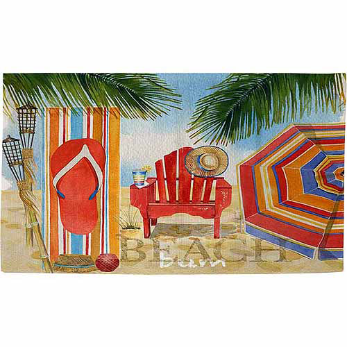 "Thumbprintz Beach Medley Rug, 22.5"" x 37"""